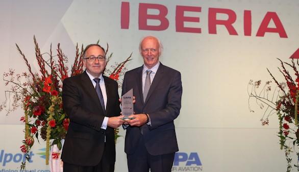 """Iberia, galardonada por el """"Mejor Proceso de Transformación de una Línea Aérea"""""""