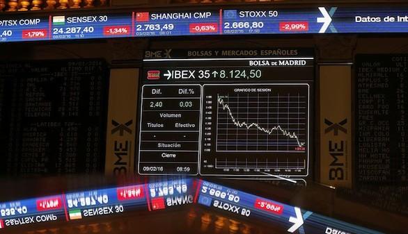 El Ibex pierde al cierre la barrera psicológica de los 8.000 puntos