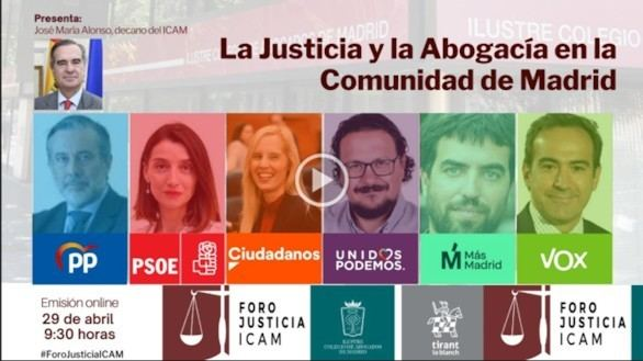 La Justicia entra en campaña en el Colegio de Abogados de Madrid