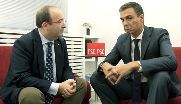 PSC: 'Entre Barcelona e independencia, elige independencia'