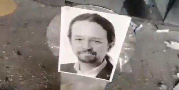 Iglesias denuncia amenazas de muerte por un vídeo de prácticas de tiro contra el Gobierno