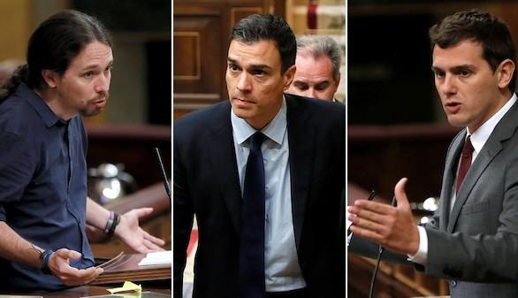 Ciudadanos y Podemos se enzarzan antes de reunirse con el PSOE
