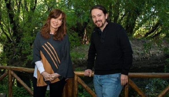 El mano a mano entre Pablo Iglesias y Cristina Fernández