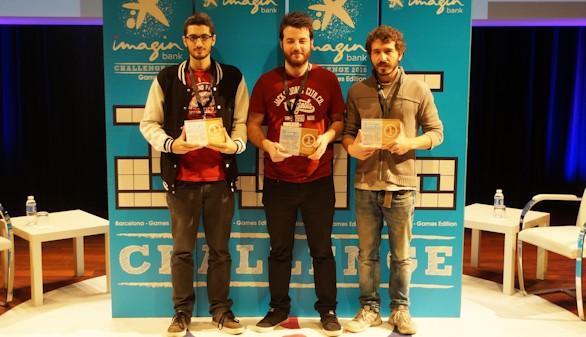 Cuatro desarrolladores, premiados por CaixaBank por idear videojuegos aplicables a la banca móvil