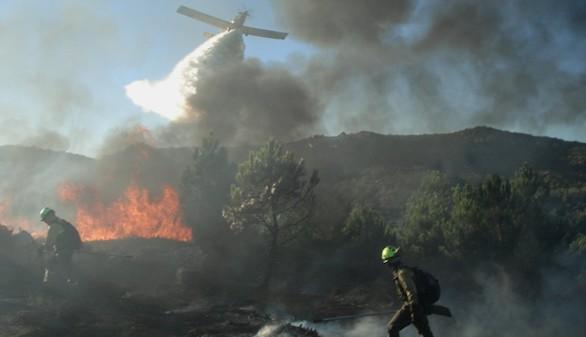 El incendio de Navarra, aunque estabilizado, sigue sin control tras arrasar 4.000 hectáreas