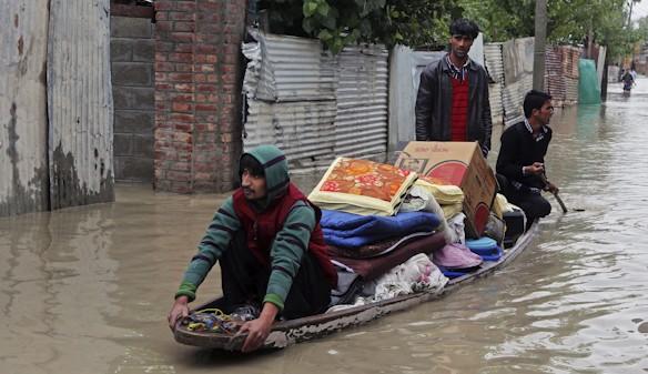 Las lluvias en la India dejan 120 muertos y 2.000 evacuados