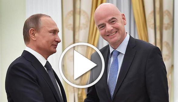 Infantino oficializa el uso del VAR en el Mundial de Rusia