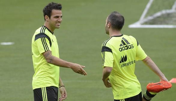 Iniesta y Cesc, futbolistas con más triunfos en la historia de la Eurocopa