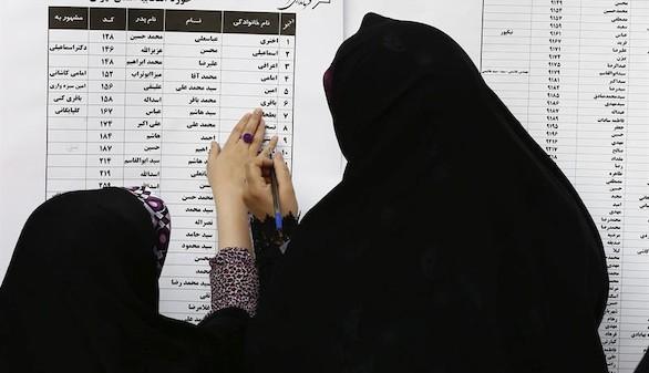 Los reformistas arrasan en Teherán