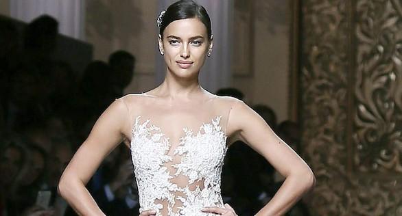 Irina Shayk visita Barcelona para vestirse de novia