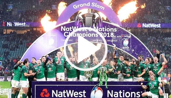 Seis Naciones. Irlanda gana a Inglaterra y celebra en Grand Slam en San Patricio