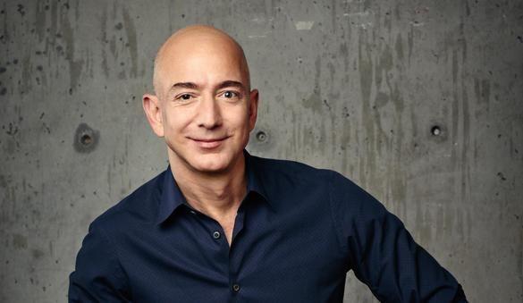 Jeff Bezos, fundador de Amazon, es el más rico del mundo