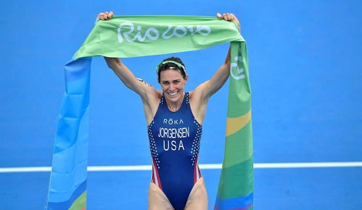 Gwen Jorgensen, nueva campeona olímpica de triatlón