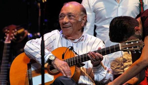 La guitarra flamenca de Juan Carmona 'Habichuela' se apaga para siempre