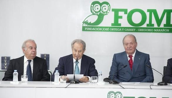 El Rey Juan Carlos, en la apertura del curso académico de la FOM