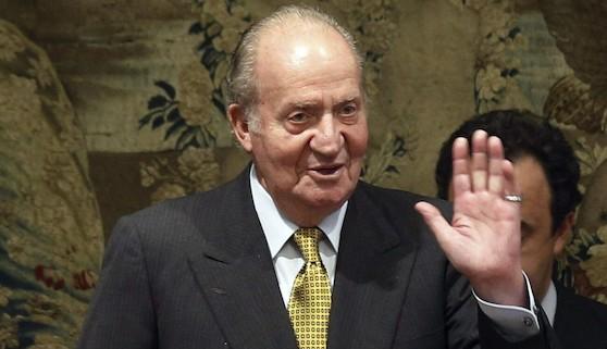 El Rey Juan Carlos, homenajeado en Colombia
