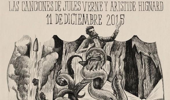 Recital inédito basado en las canciones de Jules Verne y Aristide Hignard