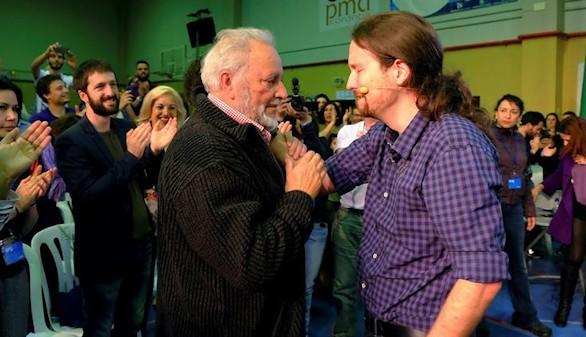 Julio Anguita dice 'no' a Podemos y se descarta para el 26J
