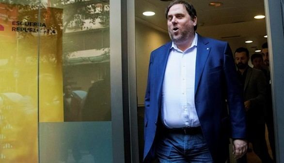La juez envía a la cárcel a Junqueras y a los otros ocho exconsejeros de Puigdemont