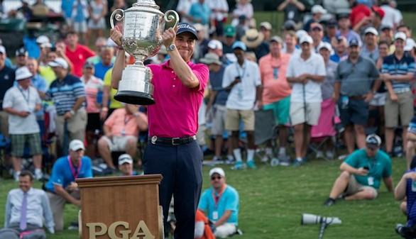 Justin Thomas conquista su primer grande con el triunfo en el PGA