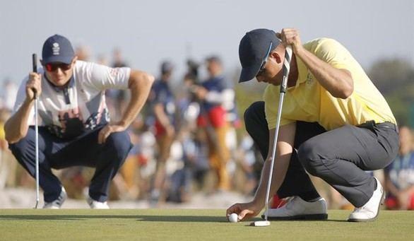 Rose supera a Stenson en un intenso duelo para lograr el oro de golf
