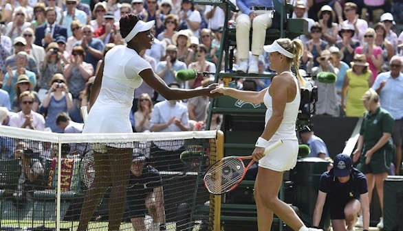 Wimbledon. Kerber se cuela en la final de las Williams