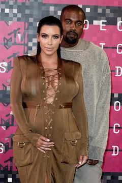 Kim Kardashian junto a su marido Kanye West. EFE
