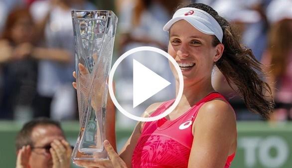 Torneo de Miami. Konta sorprende a Wozniacki y triunfa | 6-4/6-3