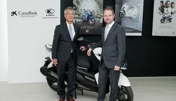 KYMCO España y CaixaBank ofrecen la forma más ágil y atractiva de disfrutar de una nueva motocicleta