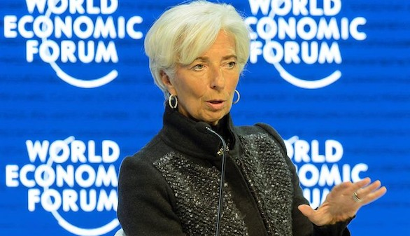 Lagarde: la crisis de refugiados amenaza Schengen