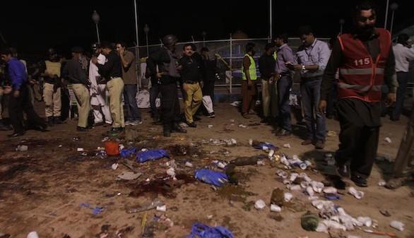 Al menos 72 muertos y 359 heridos en un atentado en Pakistán