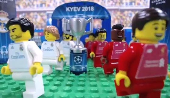 Las jugadas destacadas de la final de Champions, en versión Lego