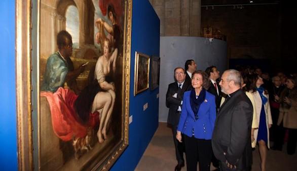 La Reina Sofía inaugura en Toro una nueva edición de 'Las Edades del Hombre'