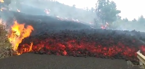 Las imágenes más impactantes de la erupción en La Palma