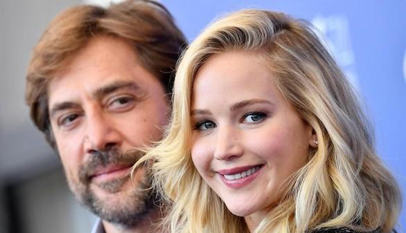 Mother!, la nueva cinta de Bardem junto a Jennifer Lawrence, divide Venecia