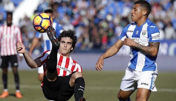 Pólvora mojada de Leganés y Athletic en un empate sin goles |0-0