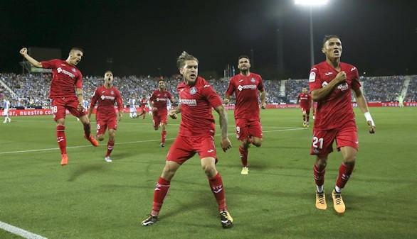 Leganés y Getafe hacen disfrutar en su primer derbi en Primera |1-2