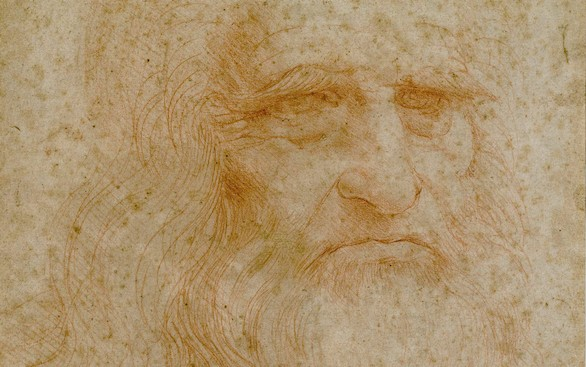 Roma muestra por primera vez el único autorretrato conocido de Da Vinci