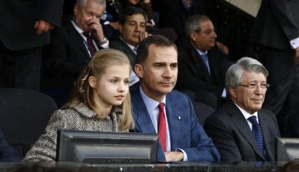 Felipe VI inaugurará el nuevo estadio del Atlético de Madrid