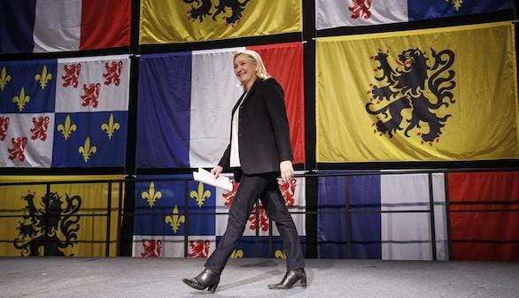 Marine Le Pen también habla de 'casta' tras su victoria electoral