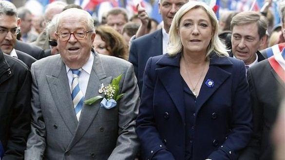 Le Pen, harto de su hija, anuncia que creará un nuevo partido