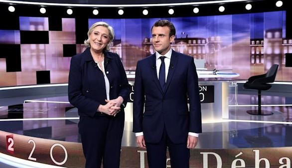 Macron y Le Pen, áspero choque a tres días de la segunda vuelta