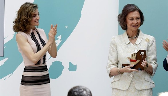 Letizia y Sofía, dos reinas entregadas