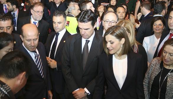 La Reina inaugura Fitur, en medio de expectativas muy positivas para el turismo