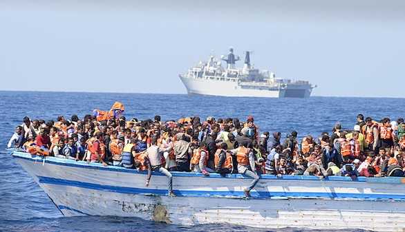 Dos naufragios dejan 200 muertos frente a las costas de Libia
