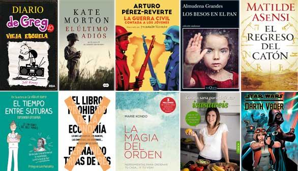 Lo nuevo de Pérez-Reverte y Almudena Grandes, entre los libros más vendidos