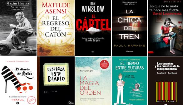 Los libros más vendidos en octubre   El Imparcial