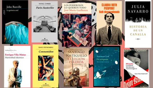Los libros de 2016: Vargas Llosa, Banville, Guelbenzu o Vila-Matas