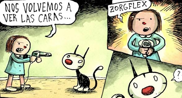 Encuentro en Madrid con Liniers, autor del cómic Macanudo