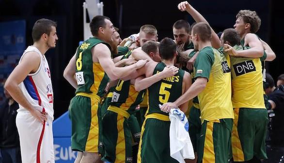 Eurobasket. Lituania jugará con España por el oro